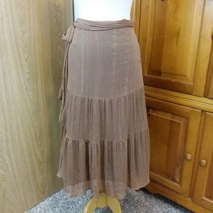 Worthington Tiered Skirt Lined Size 6